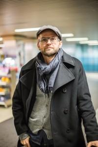 Christian in der Kölner U-Bahn, von Lars Gehrlein
