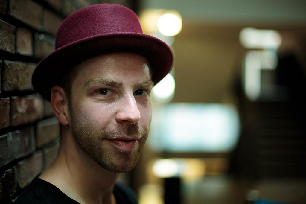 Toni Borgert, fotografiert von Lars Gehrlein, Köln